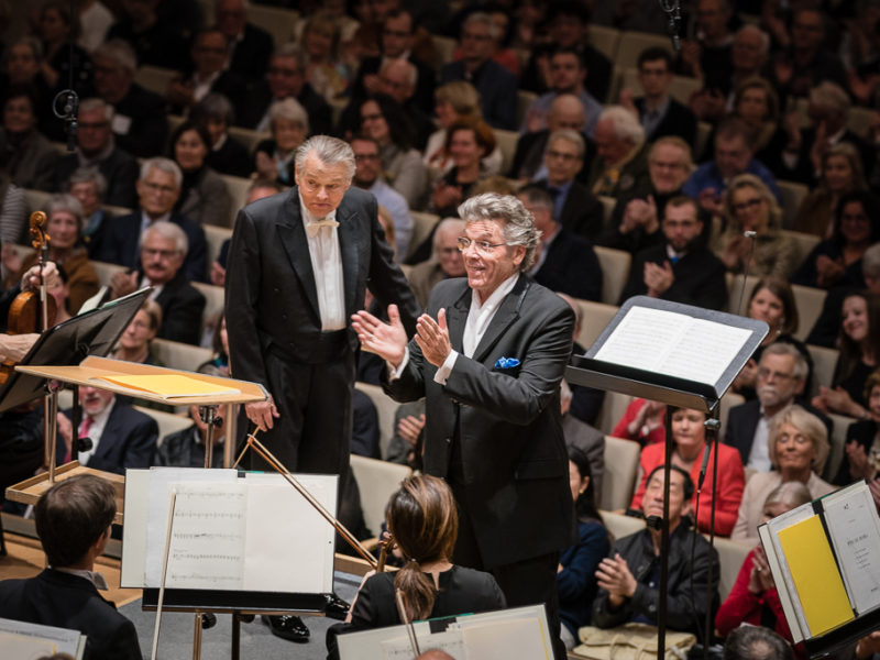 Mariss Jansons & Thomas Hampson (c) Peter Meisel