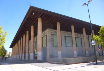Auditorio de Zaragoza (c) Zarateman (wikimedia commons)